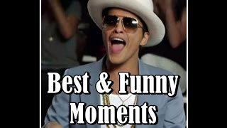 Bruno Mars - Best & Funny Moments ♥