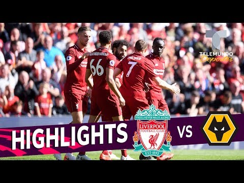 Liverpool Vs. Wolverhampton: 2-0 Goals & Highlights | Premier League | Telemundo Deportes