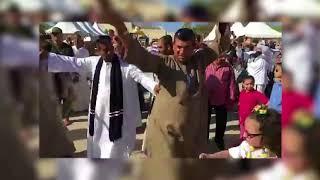 المصريون يحتفون بالانتخابات الرئاسية بالمزمار البلدي في مسقط
