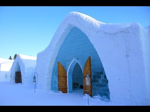 Visiting the Ice Hotel in Quebec City