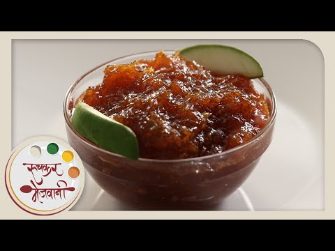 Raw Mango Chunda – Recipe by Archana – Quick Sweet & Sour Pickle in Marathi
