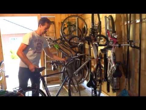 www.bicyclejack.de Fahrradlift Fahrradhalter Fahrradaufhängung Fahrradaufbewahrung