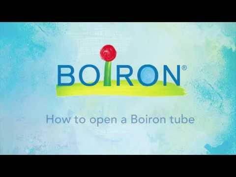 About Boiron's Tubes