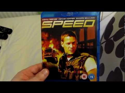 Unboxing Speed 1994 Blu Ray