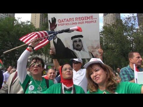 Νέα Υόρκη: Συγκέντρωση διαμαρτυρίας για τον εκδημοκρατισμό της Αφρικής