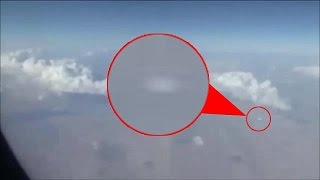'UFO' Flying Over Iran Caught on Video by Airplane Passenger