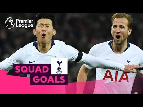Terrific Tottenham Hotspur Goals | Son, Kane, Bale | Squad Goals