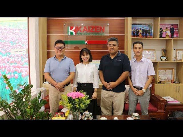 Nghiệp đoàn Tokai Koinonia Nhật Bản về thăm và hợp tác cùng Công ty CPQT Kaizen