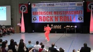 Julia Geishauser & Patrick Pfaller - Bayerische Meisterschaft 2014