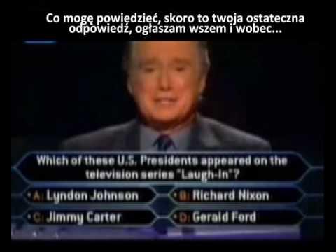 Ostatnie pytanie za milion, telefon do przyjaciela i taki tekst! Zobacz jak wygrać milion w wielkim stylu!