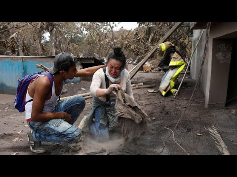 Γουατεμάλα – ηφαίστειο: Δράμα και απόγνωση