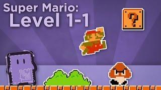 Design Club - Super Mario Bros: Level 1-1 - How Super Mario Mastered Level Design