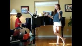 Carly Rose Sonenclar at 12 years old Second Rehearsal Empire State of Mind - Alicia Keys