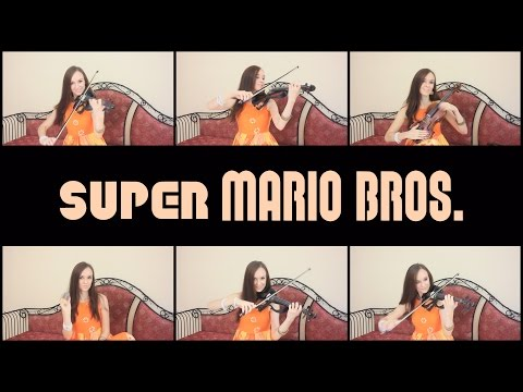 "Koji Kondo  ""Super Mario Bros. theme"" Cover by Anastasia Soina"