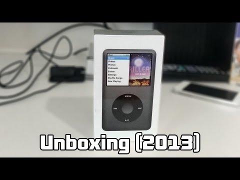 iPod Classic 160GB: Unboxing 2013 (PT-BR)
