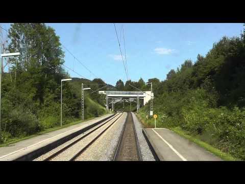 Führerstandsmitfahrt Rosenheim-Salzburg