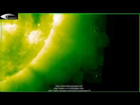 UFOs and Anomalies near the Sun – Review of © NASA images: March 19, 2013