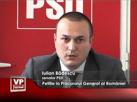 Petiţie la Procurorul General al României
