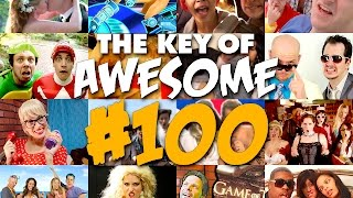 Video Key of Awesome 100: The Remix Musical! - The Key of Awesome #100 MP3, 3GP, MP4, WEBM, AVI, FLV Juni 2019