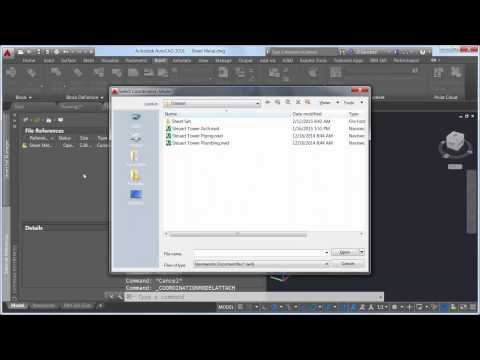 Open Navisworks files within AutoCAD. (video: 1.49 min.)