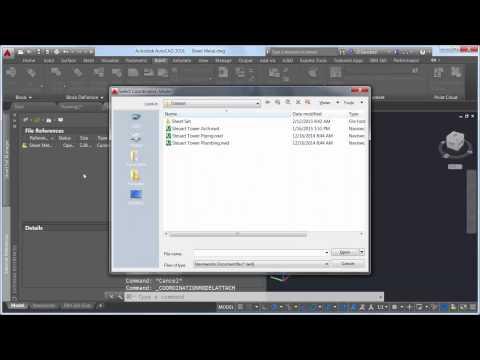Open Navisworks files within AutoCAD. (video: 1.49 min.)