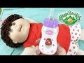 Babyland Exclusive Cabbage Patch Kid Olive Changing n Modified Magic Bottle