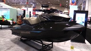 9. 2017 Sea Doo GTX Limited S 260 Jet Ski - Walkaround - 2017 Toronto Boat Show