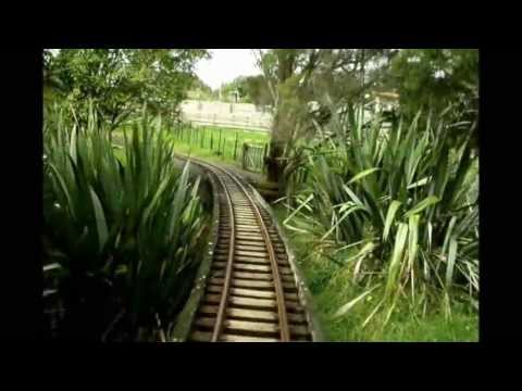 2404 - Whangaparaoa Railway is in North Auckland New Zealand built by Ted Pointon. The railway is a 15 inch gauge railway now run by Ted's wife and family.