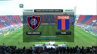 Fútbol En Vivo. San Lorenzo - Tigre. Fecha 10. Torneo Primera División 2014. FPT.