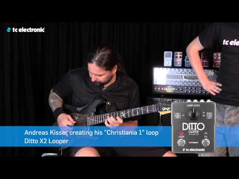 "Andreas Kisser (Sepultura) creates his ""Christiania 1"" Loop for Ditto X2 Looper"