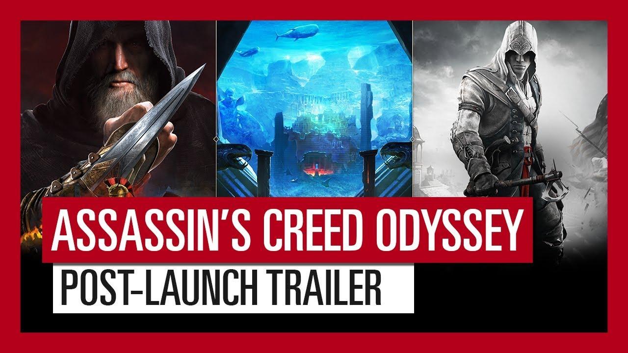 AC Odyssey'in Oyun Sonrası Çıkacak İçerikleriyle İlgili Video Yayınlandı resimi