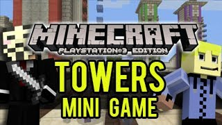 Minecraft Playstation - TOWERS - PVP Battle