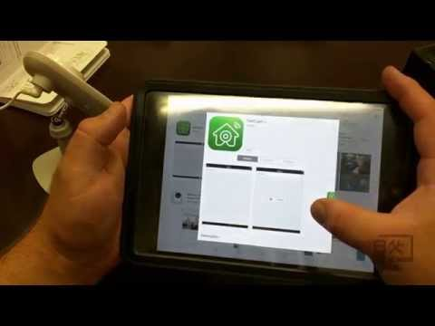 Initial install and app setup for belkin netcam hd + plus