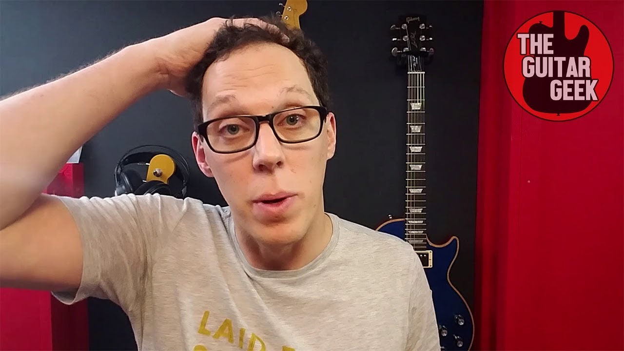 The Guitar Geek Vlog 2 – Why I've not been making videos recently