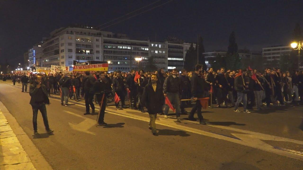 Πορεία μνήμης για τα 11 χρόνια από τη δολοφονία του Αλέξη Γρηγορόπουλου