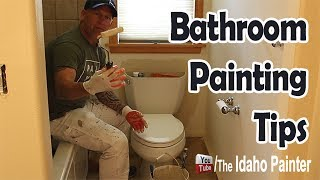 Painting Behind A Toilet