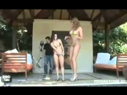 nguoi khong lo nhat the gioi mac bikini