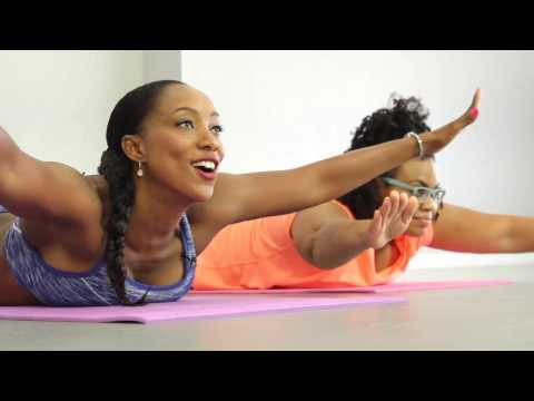 Core Strengthener and lower back workout with Tiffany Rothe