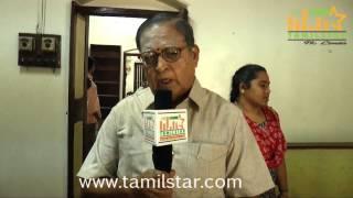 Dhenadhayalan at Kamaraj Movie Shooting Spot