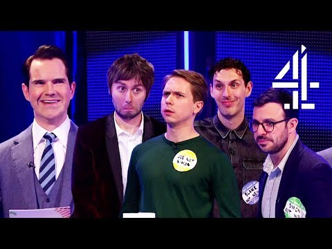 Jimmy Carr's SAVAGE Inbetweeners Quiz! | The Inbetweeners: Fwends Reunited
