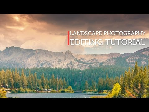 Landscape Photo Editing – Gradient maps
