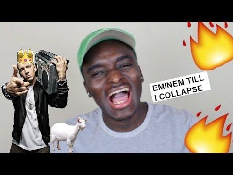 Eminem - Till I Collapse [HD] REACTION (видео)