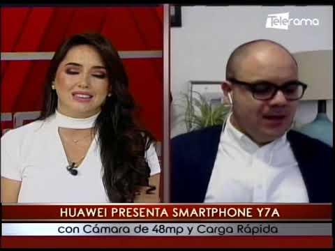 Huawei presenta smartphone Y7A con cámara de 48mp y carga rápida