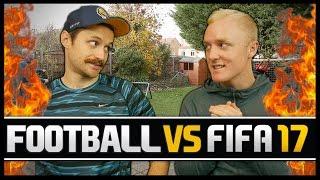 Video FOOTBALL VS FIFA WITH THEO BAKER! MP3, 3GP, MP4, WEBM, AVI, FLV Agustus 2018