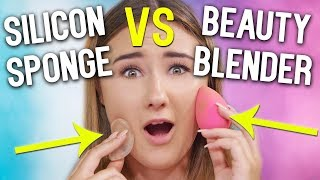 BEAUTY BLENDER VS SILICON SPONGE l Was ist besser? l Beautygram mit Sara Isabel