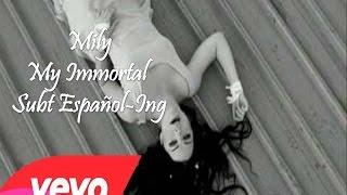 Evanescence - My Immortal Subtitulado Español Ingles Video