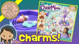 """Item provided by Mega Brands for reviewCharMinis Deluxe Jewelry Studio - Endless Charm Minis Possibilities! Alyse was excited to try this set out.  Once we got the hang of it, we were able to easily make our little charms.  After the video she kept going and even made me a little Charmini to keep at my desk.  It was a white heart with a pink butterfly covered with glitter sparkles.  I like having her in a video, so we can all see how she makes the items we are testing.  She struggled at first and once I gave her a few tips, she found it much easier to make them.Lucky Penny ThoughtsLPS-DaveLater!▶ About UsLucky Penny Shop is a family-friendly YouTube channel that features videos of kids food maker sets, slime, putty, new & vintage toys, games and candy & food from around the world! There are over 5500 videos!▶ Product InfoProduct Name HereVisit us online ▶ http://www.luckypennyshop.com/roseart-charminis-charm-maker-deluxe-jewelry-studio-variety-pack/▶ Watch More VideosFun Toys Kids Toy Products - Kids Toys - Maker Toy Sets - Playsets https://www.youtube.com/watch?v=wBNbp0sbFus&list=PL27_x9U5H26sW-rQwqVSH9Eoy6NhP5P4B&index=1Hearts for Hearts Girls Nahji from India Doll - Changing The World One Heart At A Time!https://www.youtube.com/watch?v=PW9GWCjJnZUMeet """"Skye"""" The Collectible Saddle Stars Horse - Horse Back Riding Fans! https://www.youtube.com/watch?v=30HoQe--QNwNEW! Grossery Gang  VS The Clean Team Series 3 - Large 3"""" Action Figures Putrid Power!https://www.youtube.com/watch?v=iw1tvyfMseA▶ Follow UsTWITTER  http://twitter.com/luckypennyshop FACEBOOK  http://www.facebook.com/LuckyPennyShopINSTAGRAM  http://instagram.com/LuckyPennyShopGOOGLE+  https://plus.google.com/+luckypennyshopPINTEREST  http://www.pinterest.com/luckypennyshop/LPS WEBSITE  http://www.luckypennyshop.com/Sound Effects by http://audiomicro.com/sound-effectsThis video is not intended as an endorsement of the product shown. We were not paid or provided other non-monetary advantages or incentives to """