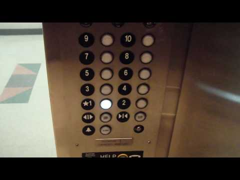 WORST dover buzz on Youtube!  ThyssenKrupp Traction elevator @ Community Hospital Roanoke VA