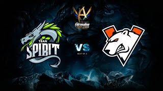 Team Spirit vs Virtus.pro, Adrenaline Cyber League, bo5, game 1 [Maelstorm & JAM]