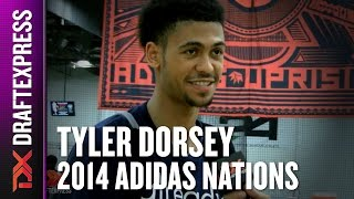 2014 Tyler Dorsey Interview - DraftExpress - Adidas Nations